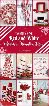 Red And White Christmas Decorations | www.pixshark.com ...