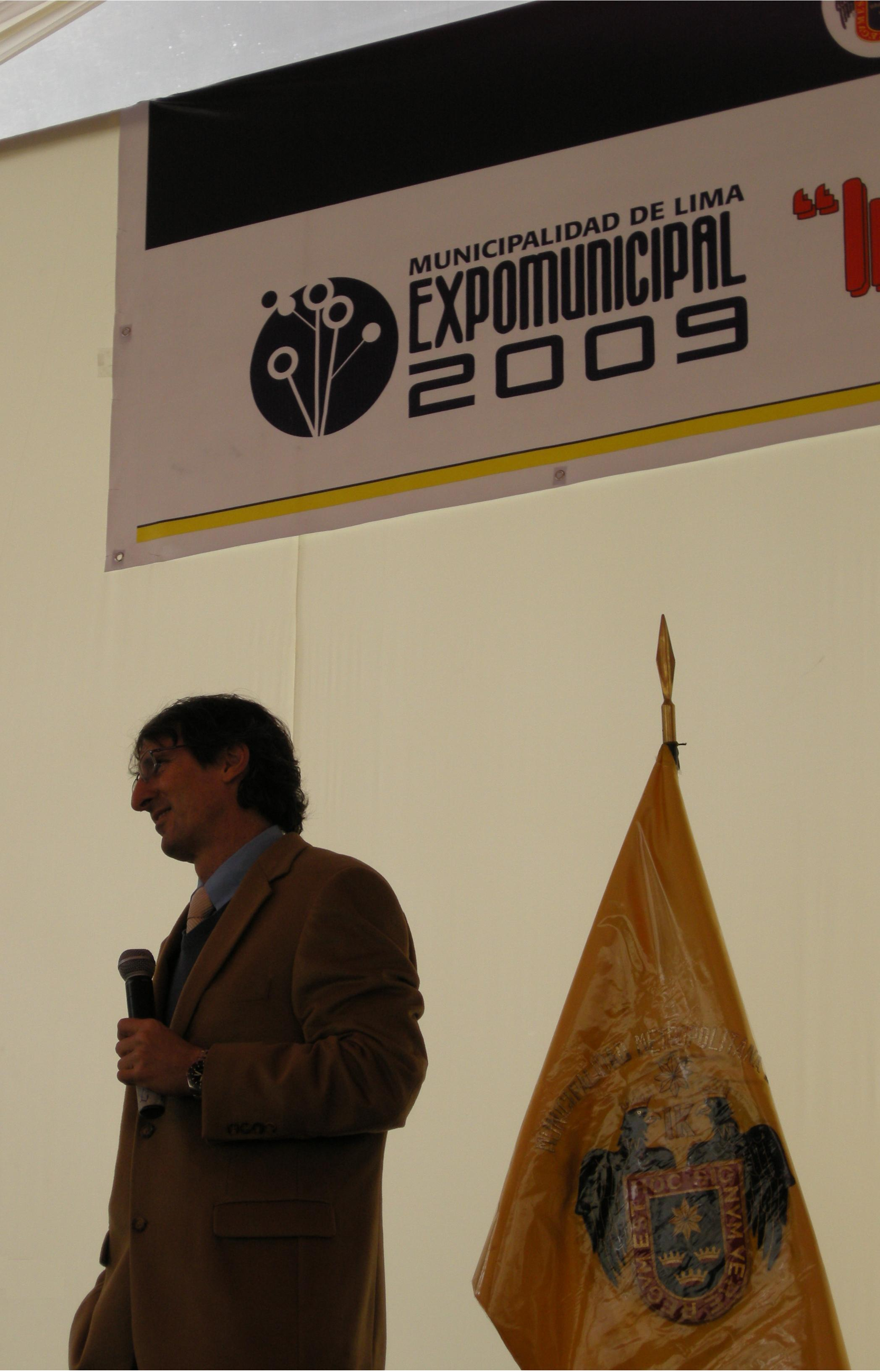 EXPOMUNICIPAL 2009 David Fishman
