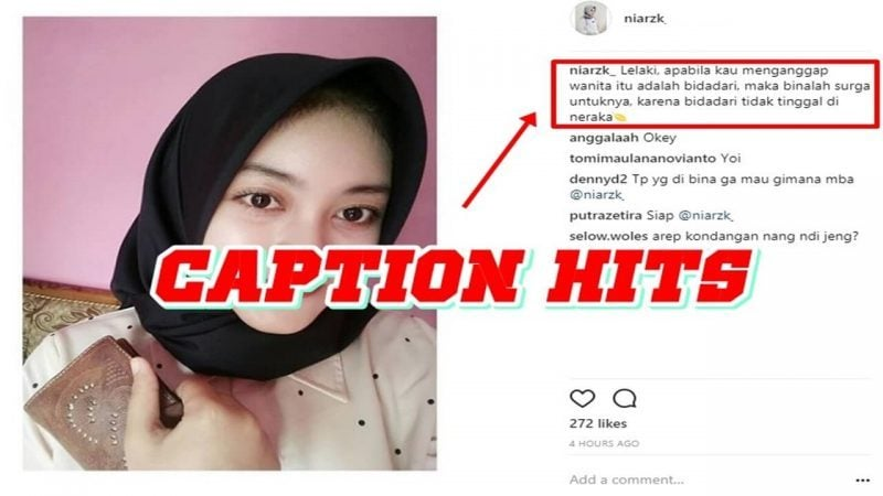 Caption instagram lucu