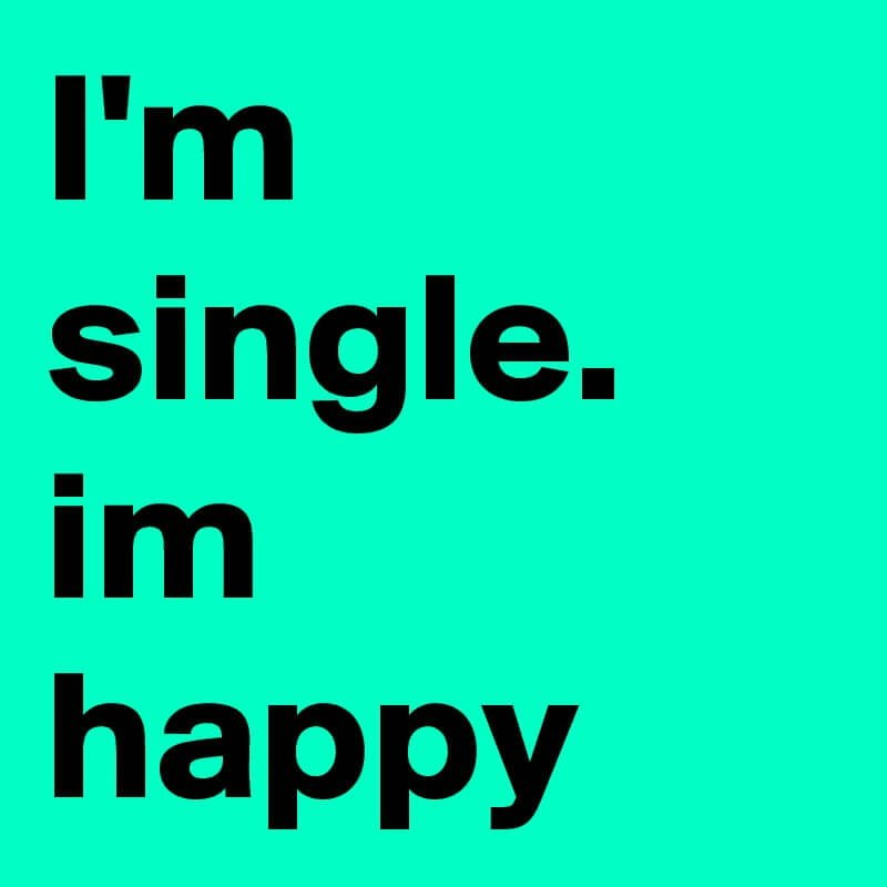 Kata kata single happy