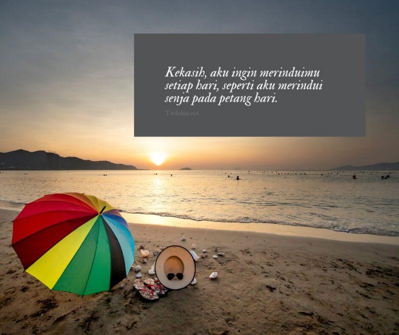 Quotes senja romantis untuk kekasih
