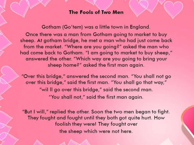 The Fools of Two Men