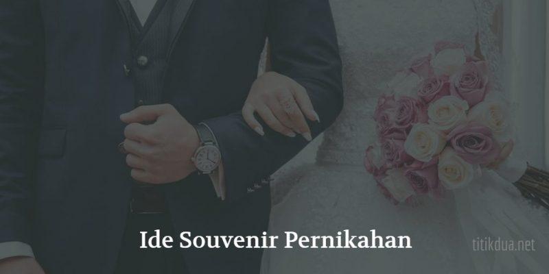 Ide Souvenir Pernikahan