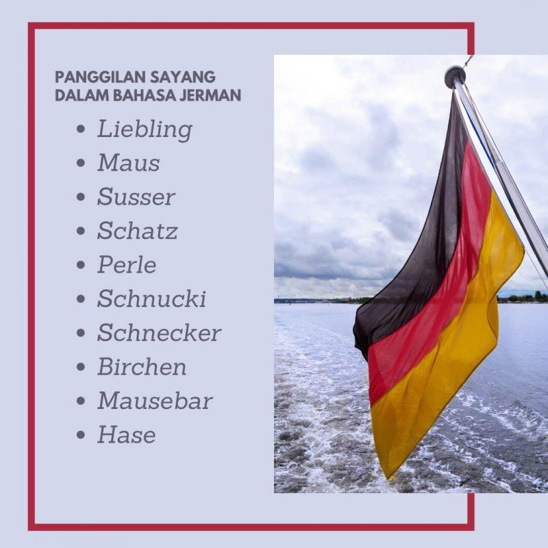 Nama Panggilan Sayang dalam Bahasa Jerman