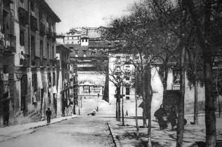 convento-del-santc3adsimo-sacramento-desde-la-plaza-de-la-paja-antes-de-la-guerra-civil