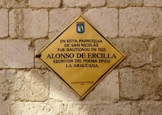 Placas Amarillas - Alonso de Ercilla