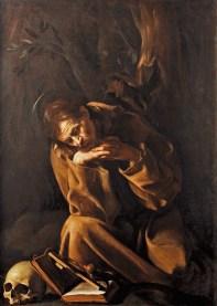 San Francisco en meditación - Caravaggio