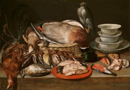 bodegon-con-gavilanaves-porcelana-y-conchas