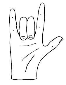 Je T'aime En Langue Des Signes : t'aime, langue, signes, Tititendresse