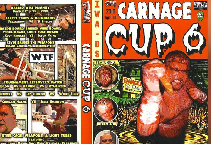 Carnage Cup 6 - IWA Deep South 1200x675 JPG Template 2020-min