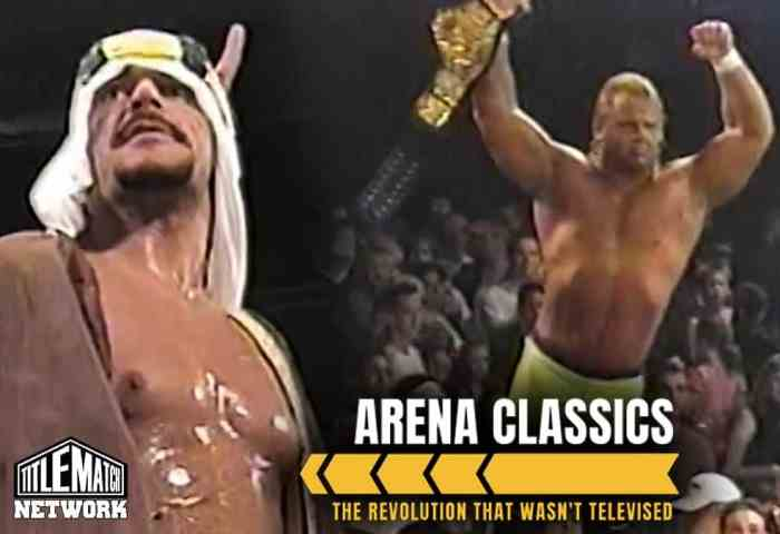 MECW ECW Arena 2001 Rare Show - The Revolution That Wasn't Televised JPG 1200x675 Title Match Network