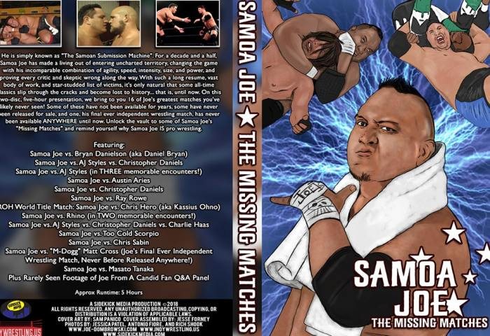 Samoa Joe The Missing Matches 1200x675 Joe Dombrowski - Title Match Network