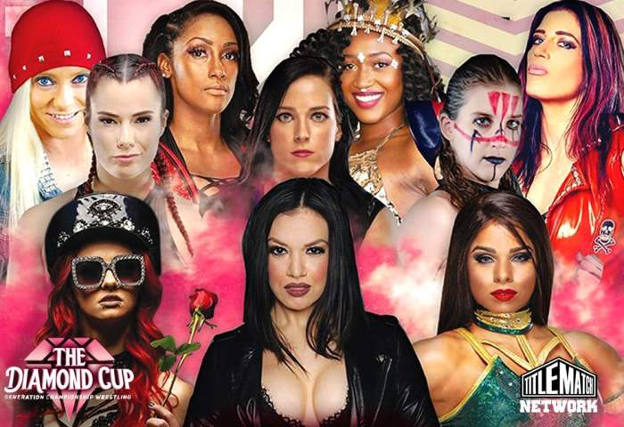 GCW Diamond Cup Women's Wrestling Tournament 1200x675 Title Match Network