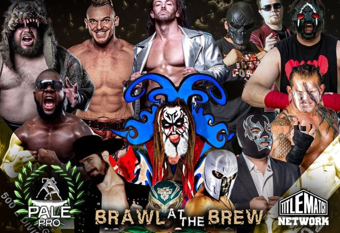 Pale Pro Wrestling Brawl at the Brew Poster 1200x675 Title Match Network 2021 New1
