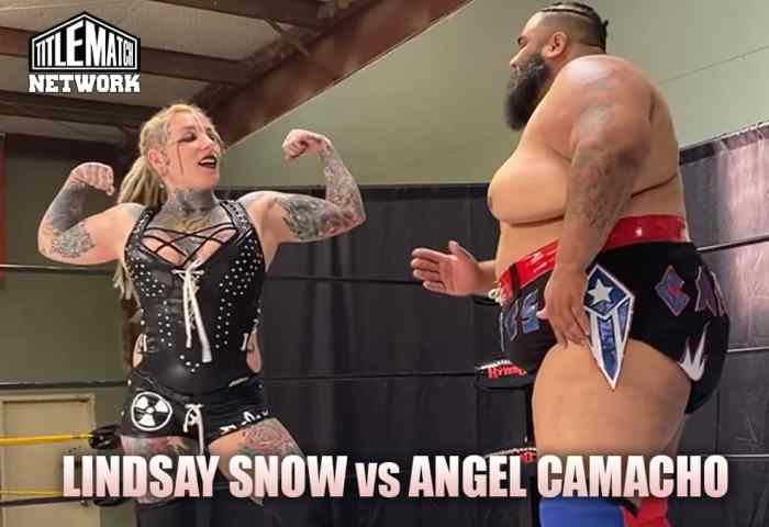 Lindsay Snow vs Angel Camacho Intergender Customs Mission Pro Wrestling JPG 1200x675