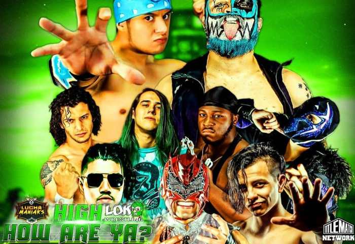 Lucha Maniaks How High Are Ya Poster 1200x675 Title Match Network small