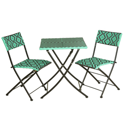 TK-Maxx-Green-&-Black-Aztec-Bistro-Set-£79