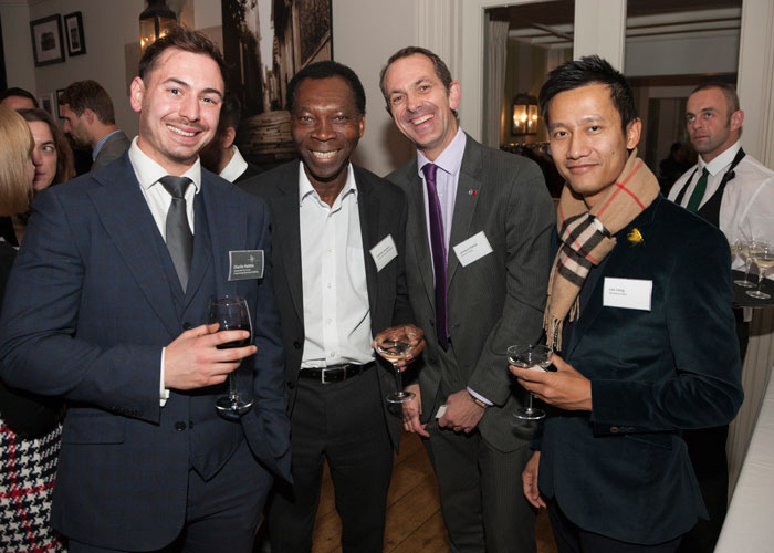 Healys Charlie Pattihis, Ambrose Harcourt of AHPR, Laurence Elphick of Juice 107.2 and Leo Uong of Charm Hotel