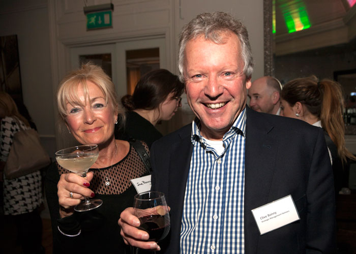 Sue and Clive Bonny of Strategic Management Partners