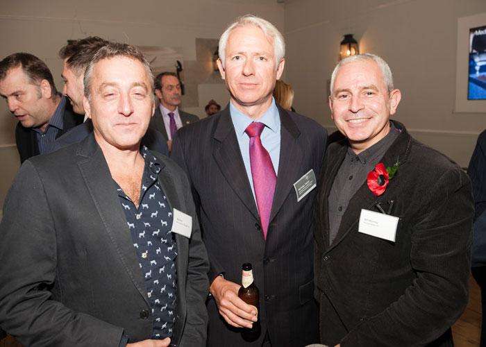Rob Starr, Nicholas Taylor and Bill Murray