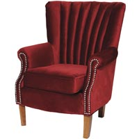 Interior design ideas Homesense red armchair
