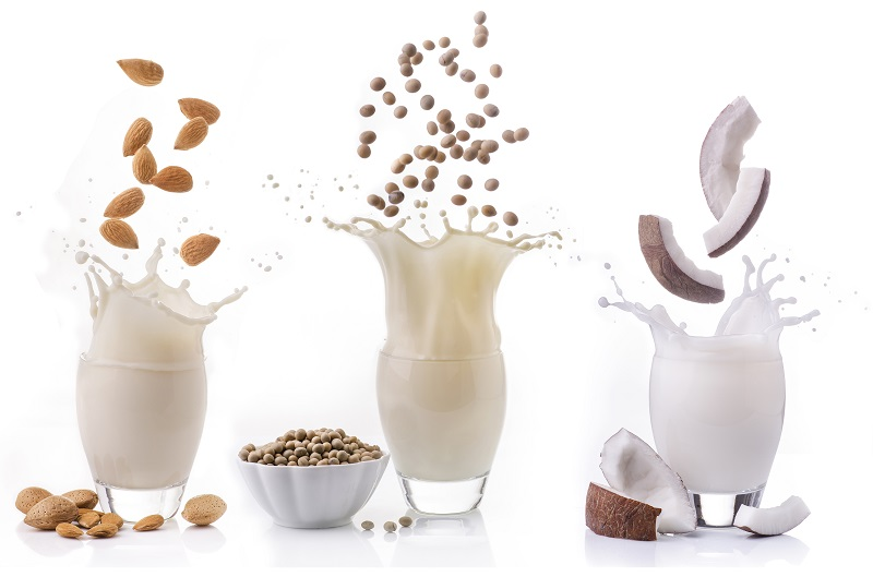 Nut and soya milks Title Sussex Magazine