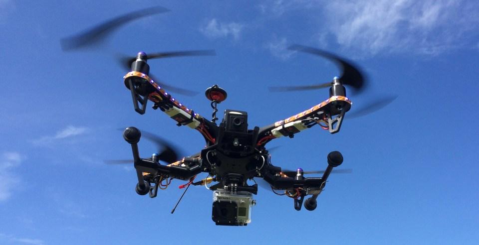 Custom Built Drone