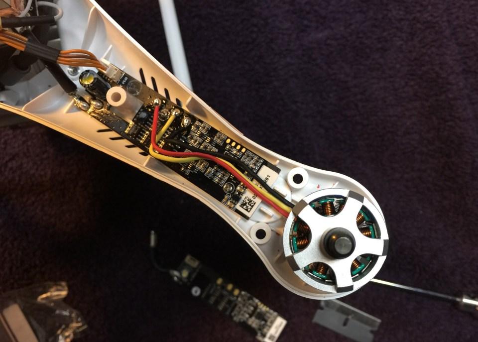 Phantom Repair Motor