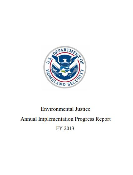Environmental Justice Annual Implementation Progress