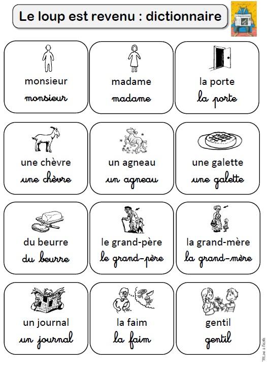 Le Loup Est Revenu Maternelle : revenu, maternelle, Revenu, TitLine, L'école