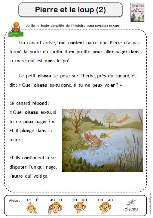 Pierre Et Le Loup Ce1 : pierre, Pierre, TitLine, L'école