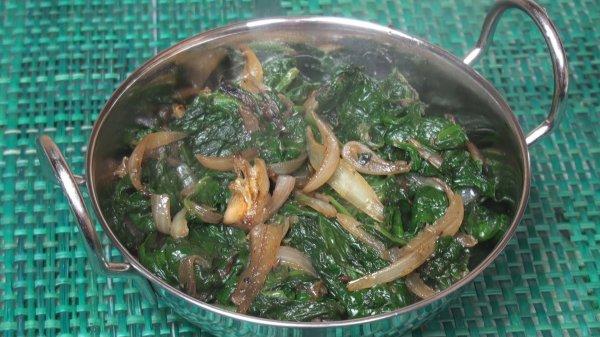 Spinach Bhaji