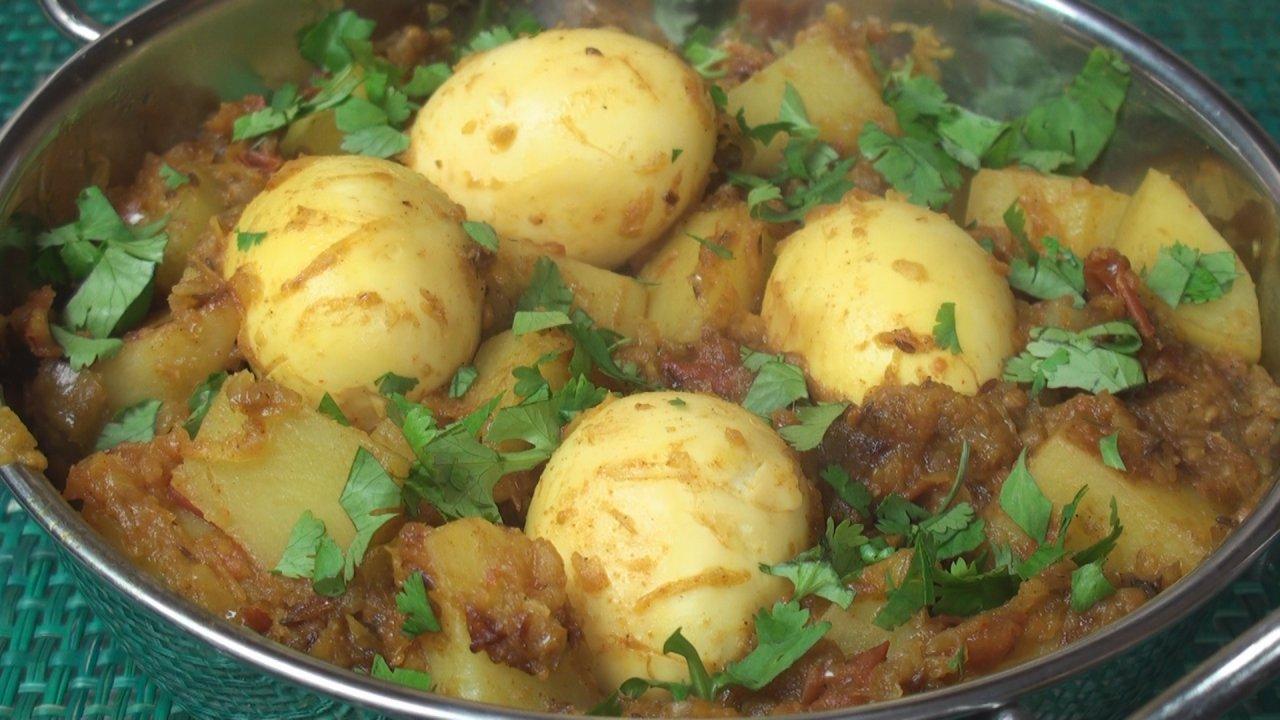 Shahi Baingan Eggplant Curry Recipe  Titlis Busy Kitchen