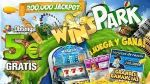 Winspark: Ganas 5€ gratis para jugar desde casa 2018
