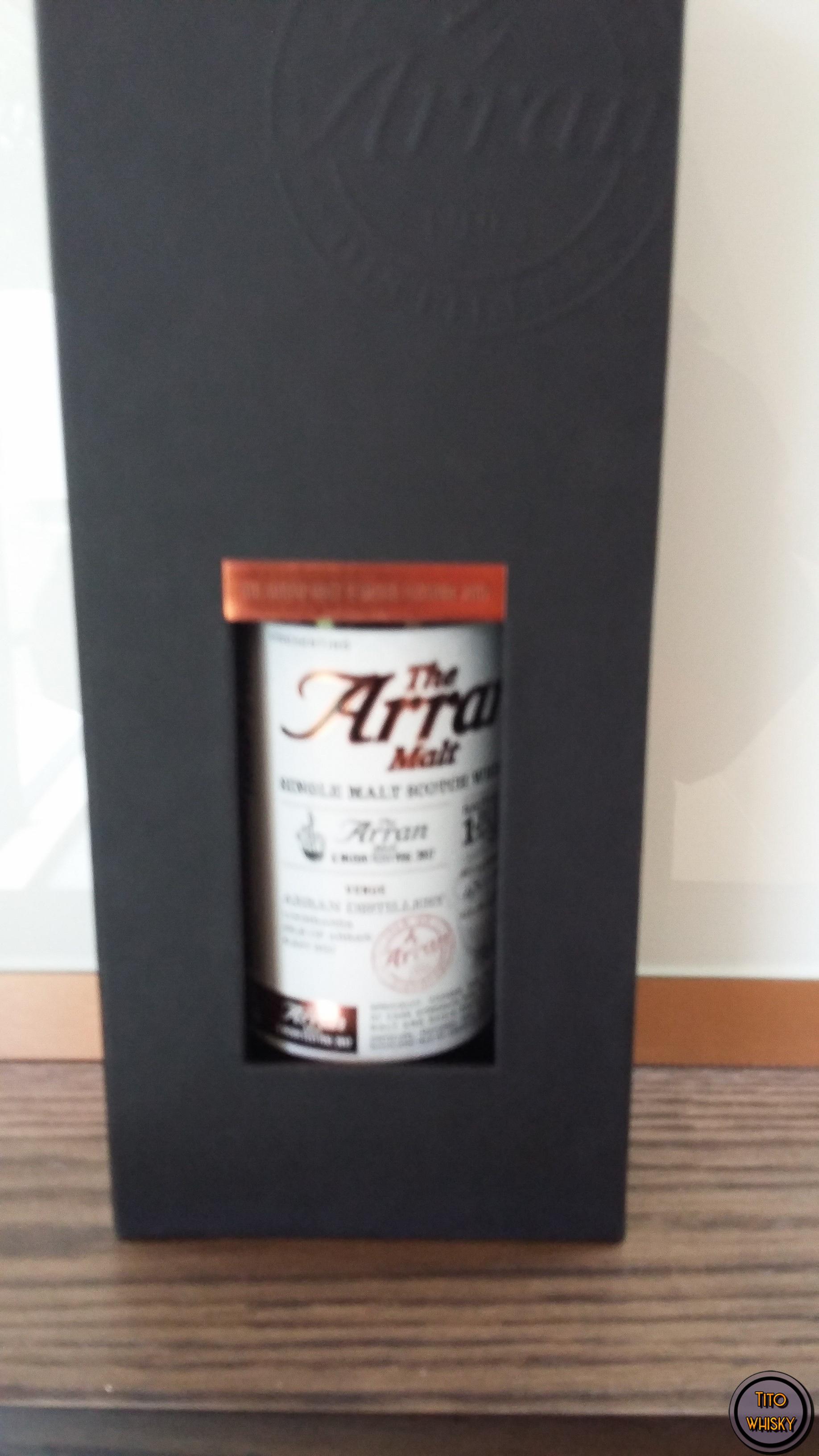 Degustación whisky arran