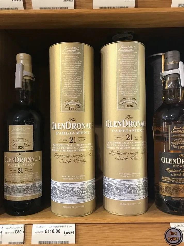 whisky en Gordon&Macphail