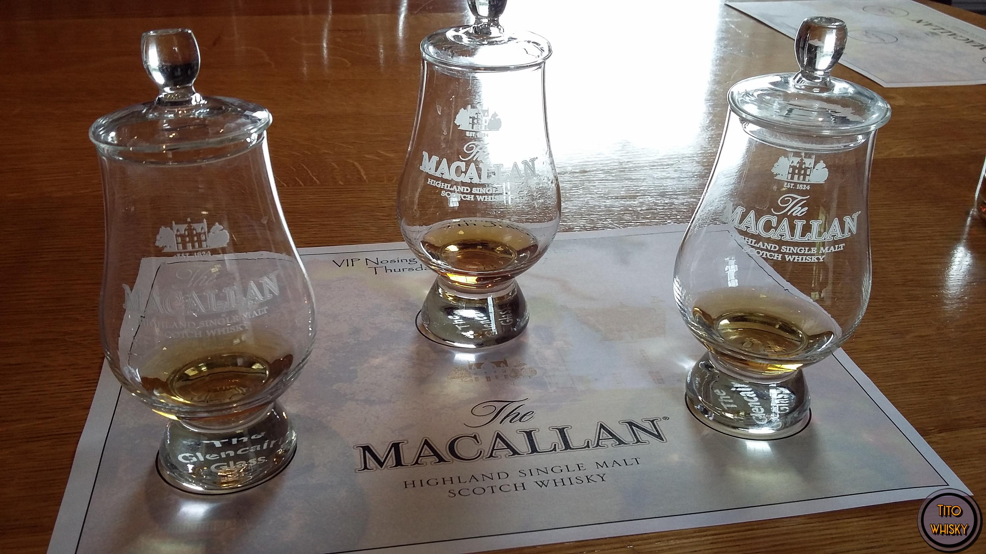 Degustando Macallan