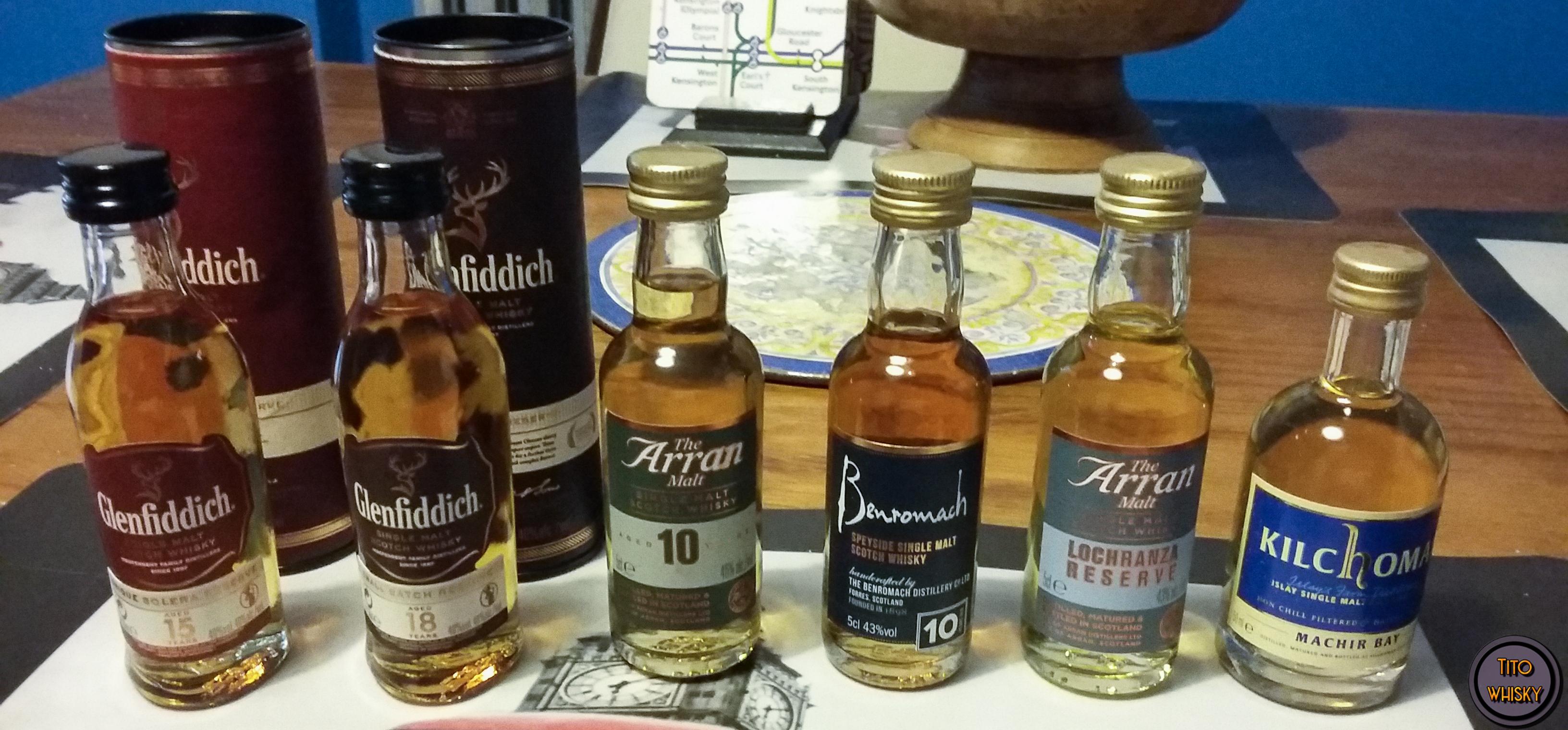 Miniaturas whisky