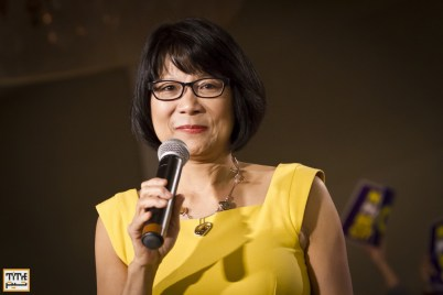 Olivia Chow launches Toronto mayoral campaign. March 16, 2014. Photo By Pooyan Tabatabaei/NVP