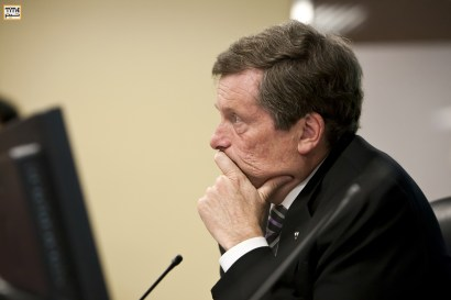 John Tory at Toronto Mayoral Candidate Roundtable Photo By Pooyan Tabatabaei