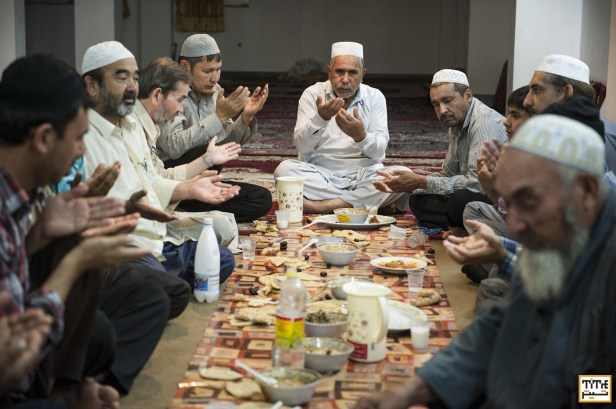 City of Gorgan, Iran; Sunni Muslims in the Central Sunni Masque. Photo By Mohammad Mahdi Amya