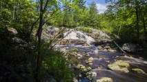 Nipissing University, North Bay, Ont. Duchesnay Falls is a hiking destination for students on campus.