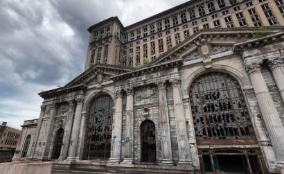 Michigan Central Station - Detroit, Michigan. Michigan Central Station - Detroit, Michigan