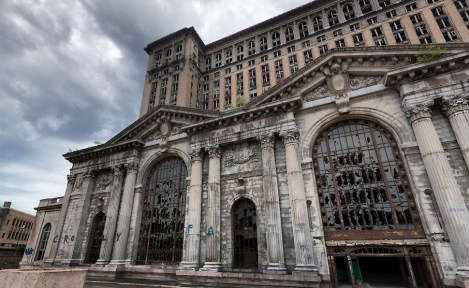 Michigan Central Station - Detroit, Michigan. Michigan Central Station - Detroit, Michigan
