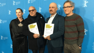 جایزه عفو بین الملل به «مهرداد اسکویی» از ایران و «جیانفرانکو رزی» از ایتالیا اهدا شد.