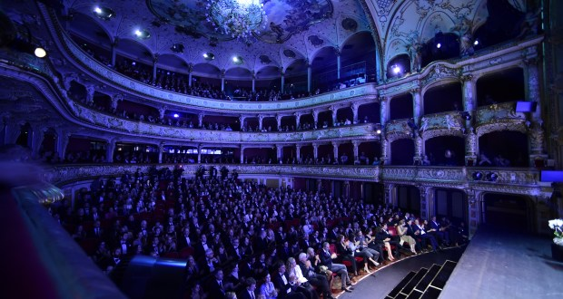 ZURICH, SWITZERLAND - OCTOBER 01:  A general view during the Award Night Ceremony during the 12th Zurich Film Festival on October 1, 2016 in Zurich, Switzerland. The Zurich Film Festival 2016 will take place from September 22 until October 2.  (Photo by Alexander Koerner/Getty Images)