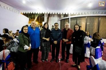 میهمانان ایرانی جشنواره به همراه وزیر امور خارجه بنگلادش