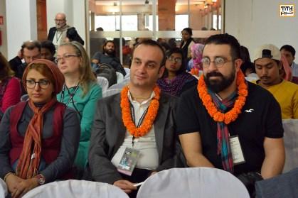پویان طباطبایی و مجید موثقی در کنفراس ۳ روزه فستیوال فیلم داکا