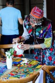 Persian Tea house. Tirgan Festival 2017 at Harbourfront Center, Toronto