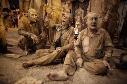 مراسم عاشورا در خرم اباد- عکس از: یاسمن ده میانی